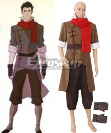 Avatar Legend of Korra Mako Cosplay Costume