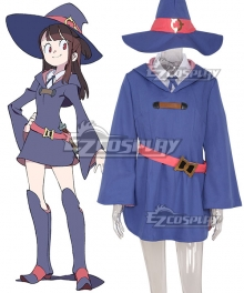 Little Witch Academia Atsuko Kagari Cosplay Costume