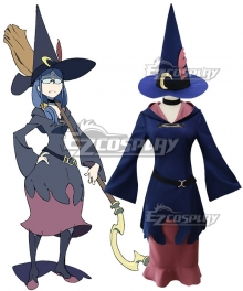 Little Witch Academia Ursula Cosplay Costume - New Edition