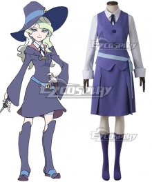 Little Witch Academia Diana Cavendish Usual Cosplay Costume