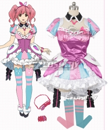 Macross Delta Macross Δ Makina Nakajima Rose red Cosplay Costume
