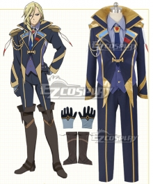 Macross Delta Macross Δ Keith Aero Windermere Cosplay Costume