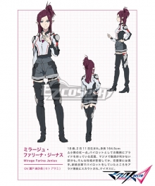 Macross Delta Macross Δ Mirage Farina Jenius Cosplay Costume