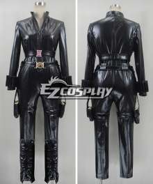 Marvel The Avengers Captain America 2 Black Widow Cosplay Costume