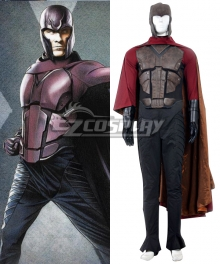 Marvel X-Men: Days of Future Past Erik Lehnsherr Magneto Cosplay Costume