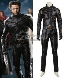 Marvel X-Men: The Last Stand Wolverine Cosplay Costume