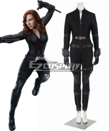 Marvel Captain America Civil War Black Widow Natasha Romanoff Cosplay Costume