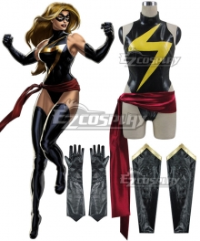 Marvel Avengers Ms. Marvel Carol Danvers Cosplay Costume