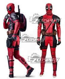Marvel Deadpool Wade Wilson Cosplay Costume New Version - B Edition