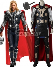 Marvel Avengers Age of Ultron Thor Odinson Cosplay Costume - Including Boots