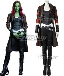 Marvel Guardians of the Galaxy Vol. 2  Movie Gamora Cosplay Costume - Including Boots