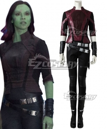 Marvel Guardians of the Galaxy Gamora Cosplay Costume - No Boots