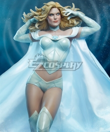 Marvel: Avengers Alliance Jean Grey Emma Frost Wolverine Phoenix White Cosplay Costume