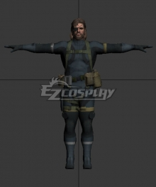 Metal Gear Solid V: Ground Zeroes Big Boss Cosplay Costume