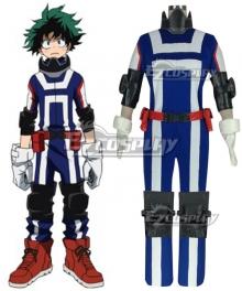 My Hero Academia Boku no Hero Akademia Izuku Midoriya Deku Sportswear Cosplay Costume