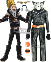 My Hero Academia Boku no Hero Akademia Present Mic Cosplay Costume - Artificial Leather