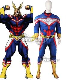 My Hero Academia Boku no Hero Akademia All Might Toshinori Yagi Red Muscle Zentai Jumpsuit Cosplay Costume
