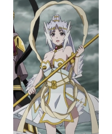 The Labyrinth of Magic Hakuei Ren Djinn equip Cosplay Costume
