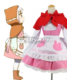 Miss Kobayashi's Dragon Maid Kanna Kamui The Little Match Girl Cosplay Costume