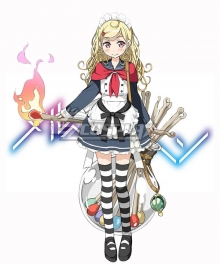 Marchen Madchen Magical Girls Lynne Daves Cosplay Costume