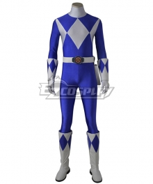 Mighty Morphin' Power Rangers Dan Tricera Ranger Cosplay Costume - Including Boots