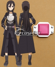 Sword Art Online II SAO Sodo Ato Onrain Gun Gale Online GGO Kirigaya Kazuto Kirito Cosplay Accessory