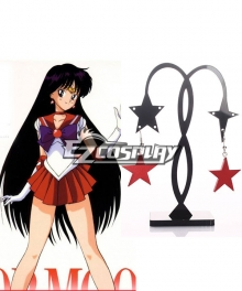Sailor Moon Rei Hino Sailor Mars Cosplay Earings