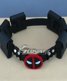Marvel Halloween Cosplay Deadpool Wade Wilson Cosplay Belt