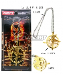 The Hunger Games Mockingjay Necklace Cosplay Accessory