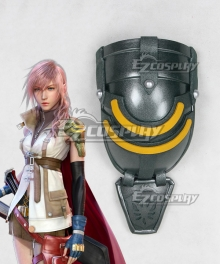 Final Fantasy XIII FF13 Lightning Pauldrons Cosplay Accessory Prop