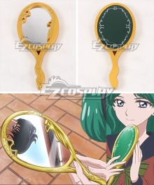 Sailor Moon Crystal Michelle Kaioh Michiru Sailor Neptune Mirror Cosplay Accessory Prop