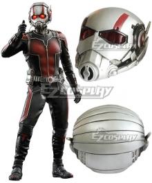 Marvel Ant Man Henry Hank Pym Helmet Mask Silver Cosplay Accessory Prop
