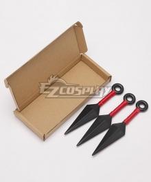 Naruto Boruto Naruto Uzumaki Sasuke Uchiha Three Kunai Knife Cosplay Accessory Prop