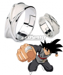 Dragon Ball Super Goku Black Time Super Fusion Zamasu Ring Cosplay Accessory Prop