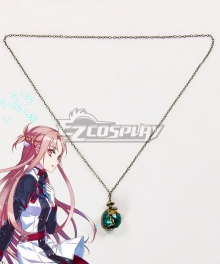 Sword Art Online Ordinal Scale Yuuki Asuna Yuki Asuna Movie Necklace Cosplay Accessory Prop