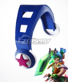 League of Legends LOL Arcade Riven the Exile Headwear Cosplay Accessory Prop