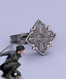 Dishonored 2 Emily Kaldwin Ring Cosplay Accessory Prop