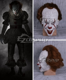 It 2017 Movie Pennywise Mask Halloween Cosplay Accessory Prop