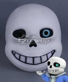 Undertale Sans Mask Halloween Cosplay Accessory Prop