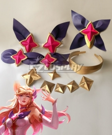 League of Legends LOL Star Guardian Ahri Star accessories Cosplay Accessory Prop