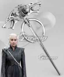 Game of Thrones Season 7 Daenerys Targaryen Brooch Cosplay Accessory Prop