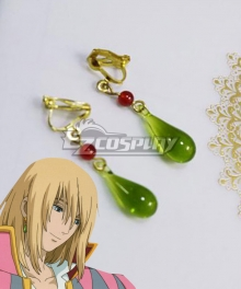 Howl's Moving Castle Howl Ear Clips Ear Studs Cosplay Accessory Prop
