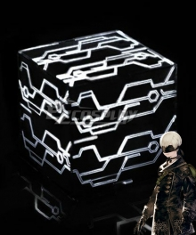 NieR: Automata 9S YoRHa No.9 Type S 2B 9S YoRHa No.2 Type B Black Box Cosplay Accessory Prop