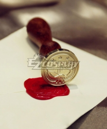 Violet Evergarden Violet Evergarden Wax Seal Stamp Full Set Cosplay Accessory Prop