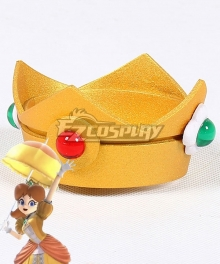 Super Smash Bros. Super Mario Princess Daisy Crown Cosplay Accessory Prop