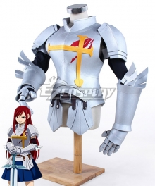 Fairy Tail Erza Scarlet Armor Cosplay Accessory Prop