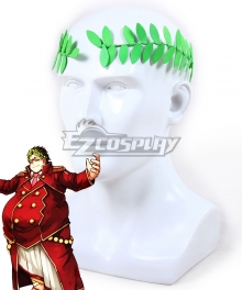 Fate Grand Order FGO Saber Gaius Julius Caesar Headwear Cosplay Accessory Prop