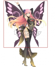Vocaloid 2017 Racing Luka Wings Cosplay Accessory Prop