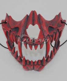 Halloween Teeth Yasha Mask E Cosplay Accessory Prop