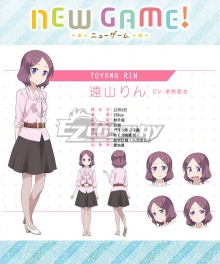 New Game! Rin Toyama Cosplay Costume